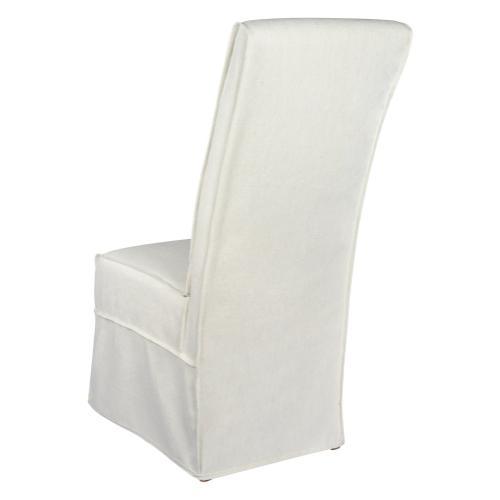 Long Parson Slip Cover-washable + Reversible White
