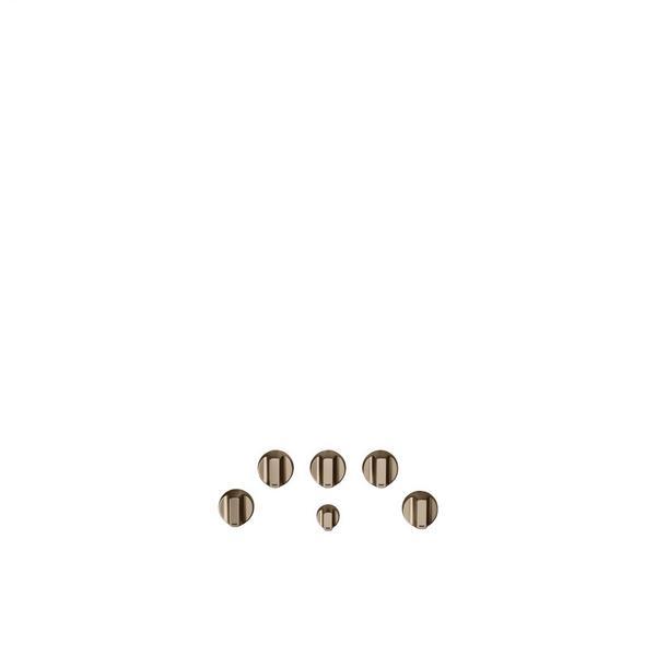 Café 5 Gas Cooktop Knobs - Brushed Bronze