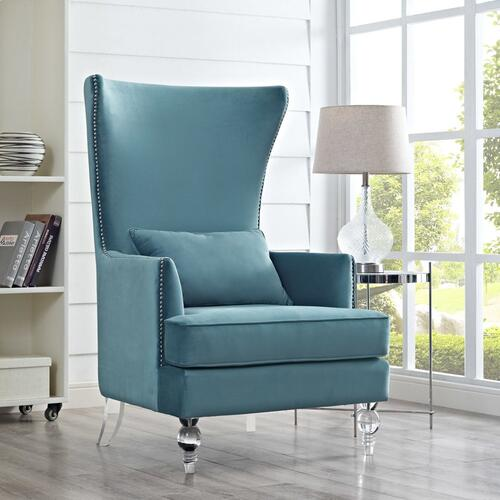 Bristol Sea Blue Tall Chair