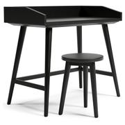 Blariden Desk With Stool Product Image