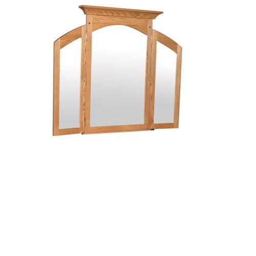 Royal Mission Tri-View Mirror, Medium