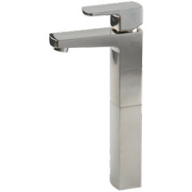 Safire Vessel Lav Faucet High Brushed Nickel