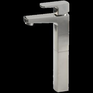 Safire Vessel Lav Faucet High Brushed Nickel Product Image