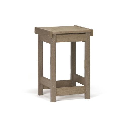 Flat Seat Counter Stool
