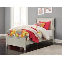 Jorstad Twin Upholstered Sleigh Headboard/footboard