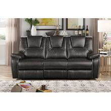 8089 GRAY Power Recliner Air Leather Sofa