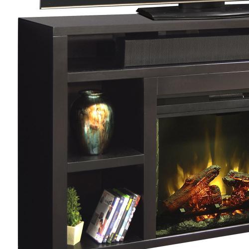 "Legends - Urban Loft 62"" Fireplace Console"
