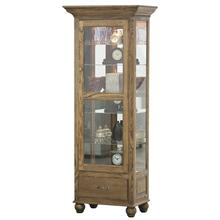 See Details - Tall Lighted Curio