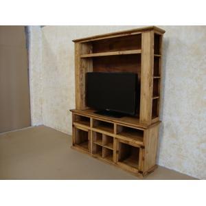 2 Glass Door TV Stand