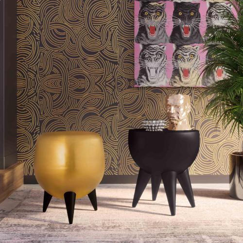Tov Furniture - Spike Black Side Table