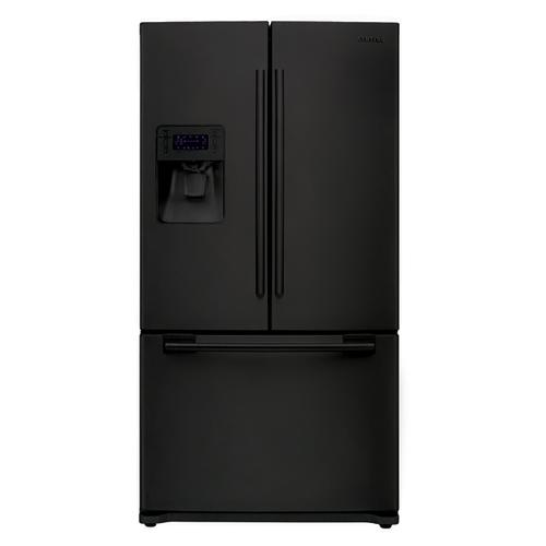 26 cu. ft. French Door Refrigerator (This is a Stock Photo, actual unit (s) appearance may contain cosmetic blemishes. Please call store if you would like actual pictures). This unit carries our 6 month warranty, MANUFACTURER WARRANTY and REBATE NOT VALID with this item. ISI 37747 B