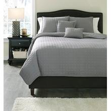 Lazen 5-piece King Coverlet Set