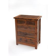 See Details - Heritage Richland 5 Drawer Chest