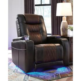 Composer Power Recliner/Adjustable Headrest Brown