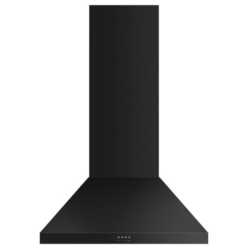"Gallery - Wall Range Hood, 30"", Pyramid Chimney"