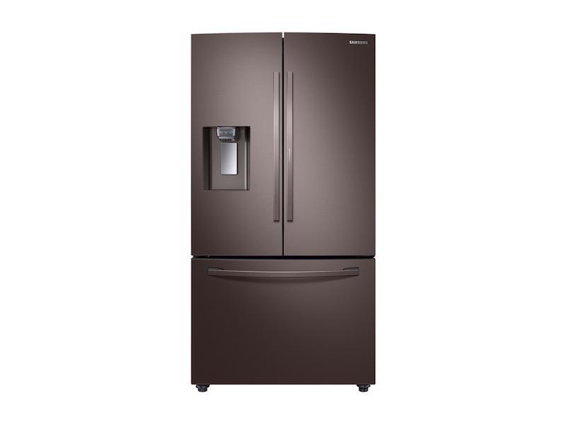 28 cu. ft. 3-Door French Door Food Showcase Refrigerator in Tuscan Stainless Steel