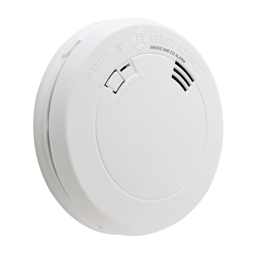 Smoke and Carbon Monoxide Alarm with Voice and Location, Battery Operated