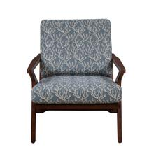 Mid Century Rain Wood Accent Arm Chair