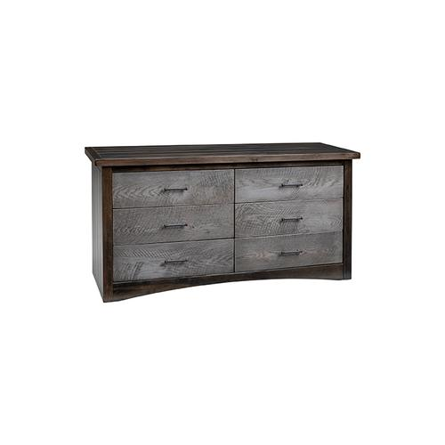 Everett 6 Drawer Dresser