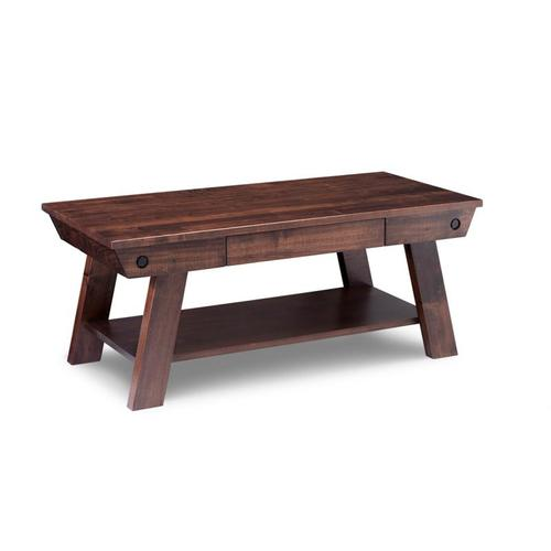 Handstone - Algoma Coffee Table with Drawer