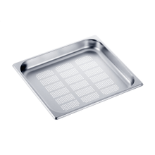 DGGL 13 - Perforated steam oven pan For blanching or cooking vegetables, fish, meat and potatoes and much more