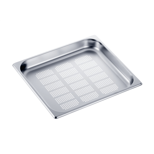Miele - DGGL 13 - Perforated steam oven pan For blanching or cooking vegetables, fish, meat and potatoes and much more