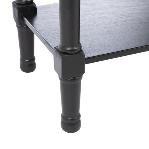 Safavieh - Ryder 2 Drawer Console Table - Black