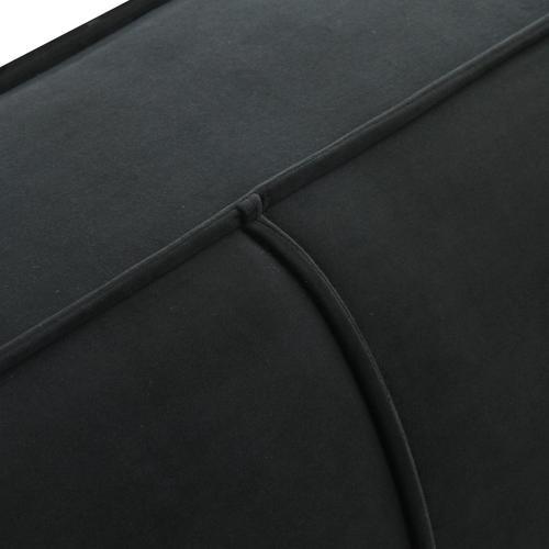 Tov Furniture - Olafur Black Velvet Sofa