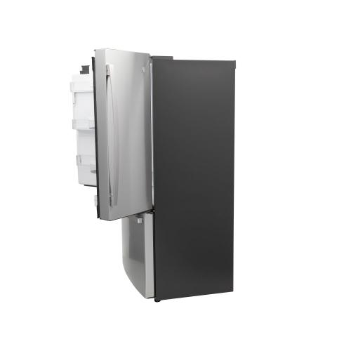 GE Profile™ Series ENERGY STAR® 22.1 Cu. Ft. Counter-Depth Fingerprint Resistant French-Door Refrigerator with Hands-Free AutoFill