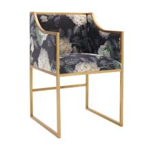 Product Image - Atara Floral Velvet Gold Chair