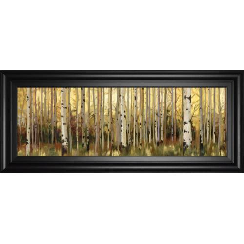 """Forest Light"" By Alison Pearce Framed Print Wall Art"