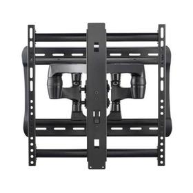 """Full-Motion Wall Mount Dual extension arms for 42"""" - 90"""" flat-panel TVs - extends 28"""" / 71.12 cm - Black"""