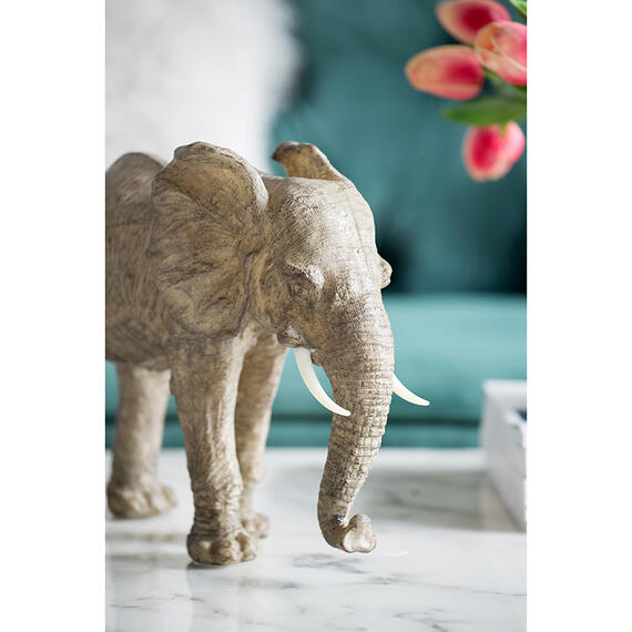 A & B Home - Tai Elephant Accent,Walking
