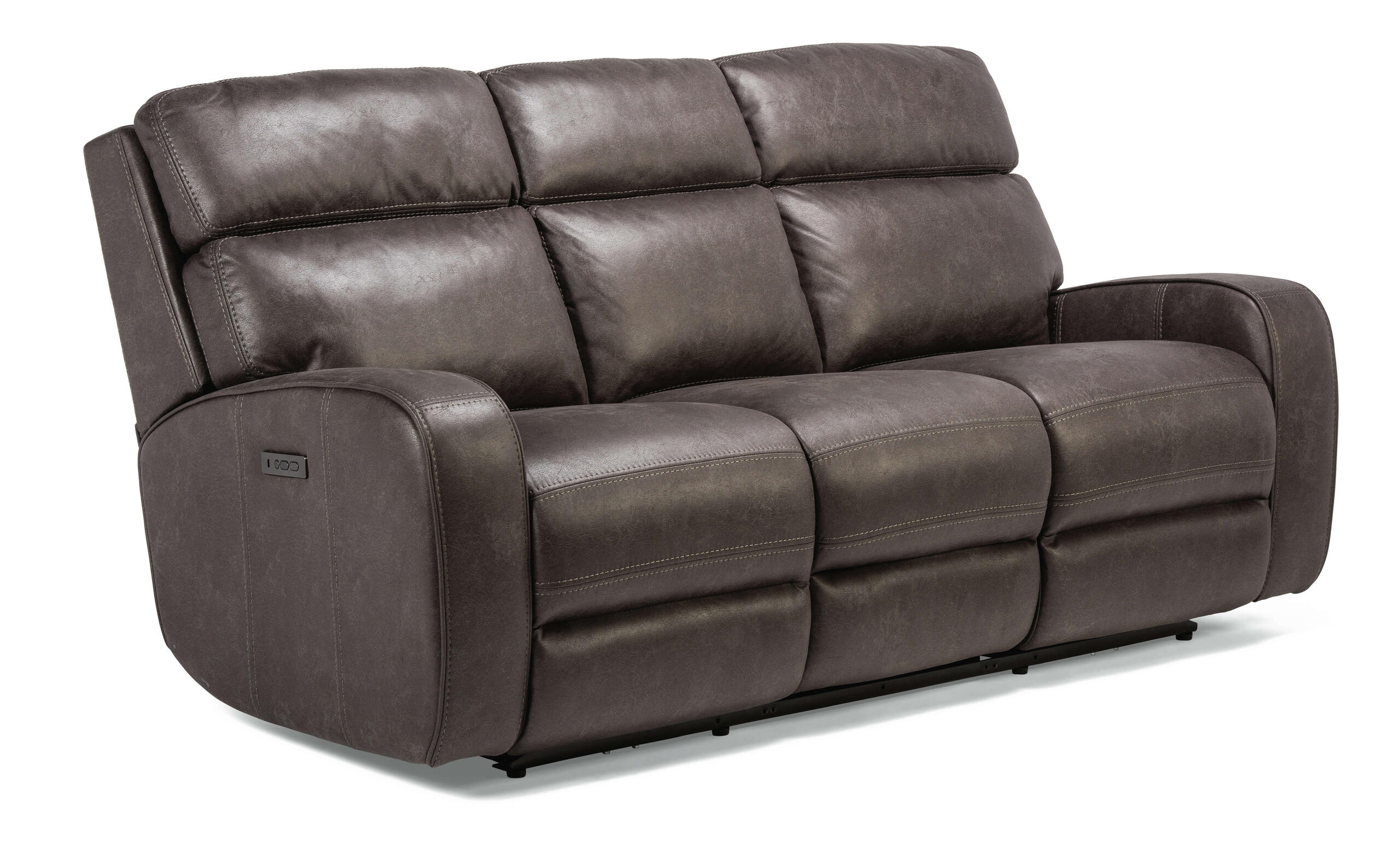 FlexsteelTomkins Park Power Reclining Sofa With Power Headrests