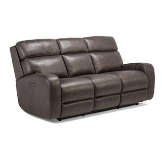 See Details - Tomkins Park Power Reclining Sofa with Power Headrests