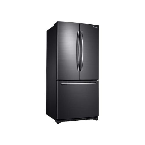 20 cu. ft. French Door Refrigerator in Black Stainless Steel