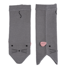 Mouse Baby Leg Warmers. (1 pair)