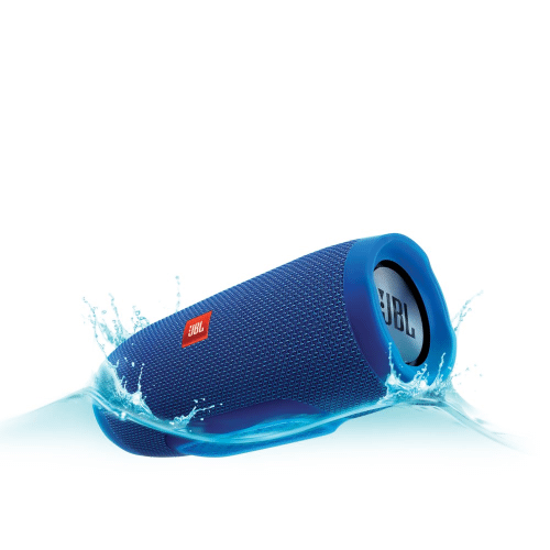 JBL Charge 3 Full-featured waterproof portable speaker with high-capacity battery to charge your devices