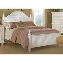 See Details - Cottage Poster Bed