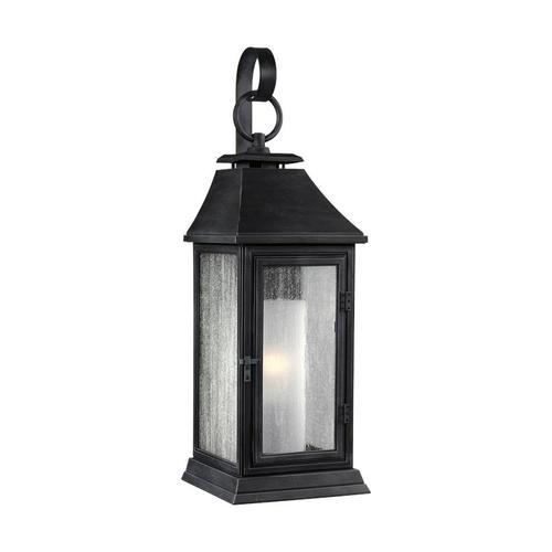 Shepherd Extra Large Lantern Dark Weathered Zinc