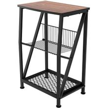 See Details - 7076 Side Table with Middle Rack