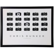 See Details - Camera Sequence  33in X 43in  Framed Print Under Glass