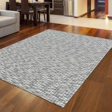 "Radici Bellissima 9 Gray/Silver Rectangle 9'0""X12'0"""
