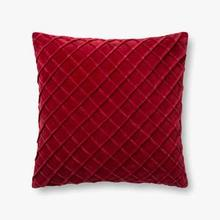 See Details - P0125 Red Pillow
