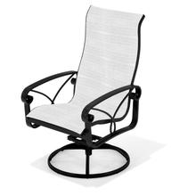 See Details - Palazzo Sling Ultimate High Back Swivel Rocker Dining Chair (2pk)