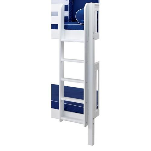 Straight Ladder for High Bunk : White