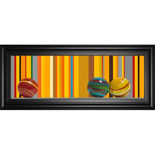 "Classy Art - ""The Four Seasons - Summer"" By Kevork Cholakian Framed Print Wall Art"