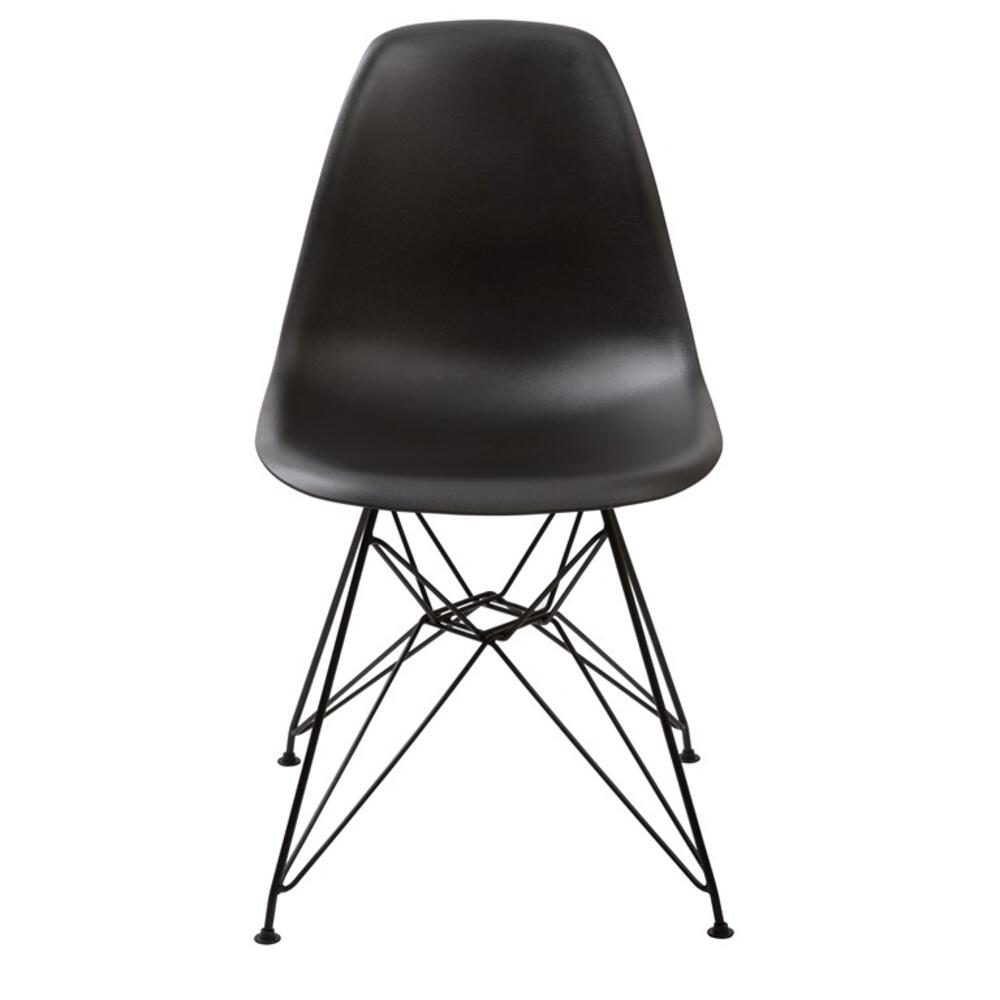 Rostock Chair with Black Finish
