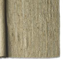 Dowdall 8 x 10 Tan Cotton, Jute, and Leather Rug