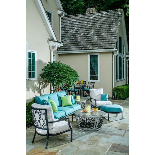 "Alfresco Home - Pebble Brook 38"" Round Coffee Table"